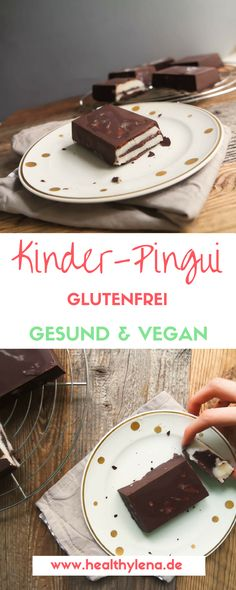 Vegan children's pingui – here you can expect a healthier and purely vegetable version of the well-known candy. So after I made vegan oreo first, it's time for vegan kids penguins. Here's the recipe: gluten-free, vegan & with just a few ingredients. Healthy Dessert Recipes, Easy Desserts, Smoothie Recipes, Baking Recipes, Vegan Recipes, Dessert Simple, Vegan Sweets, Healthy Sweets, Best Vegan Lasagna Recipe