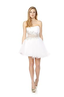 Be the belle of the ball in this swan lake inspired beaded mini prom dress by @Jovani Fashions and dance the night away with the fun and flirty tutu. http://www.wishwantwear.com/dress-hire/jovani/426-beaded-mini-prom-dress.html