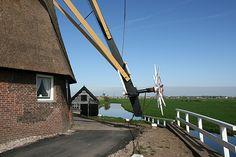 Achtkante Molen, Groot-Ammers, Alblasserwaard, Zuid-Holland