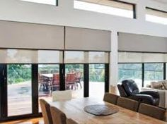Inside fit, double roller blinds