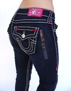 0f440b63b TRUE RELIGION Womens Julie Super T Brights Jeans