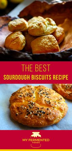 My homemade sourdough biscuits are crunchy and delicious, check them out. Sourdough Biscuits, Sourdough Recipes, Kefir How To Make, How To Make Bread, Other Recipes, Whole Food Recipes, Good Food, Yummy Food, Campfire Food