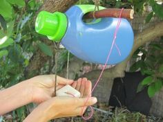 Tippy Tap, Beta Version. A DIY water-saving hand washing device developed for use in areas where there's no running water.