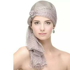 Beautiful Hijab, Beautiful Outfits, Chemo Hair Loss, Hair Turban, Hair Cover, Fascinator Hats, How To Wear Scarves, Outfit Combinations, Headgear
