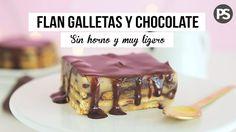 TARTA SIN HORNO: FLAN, GALLETAS Y CHOCOLATE   con INVITADA ESPECIAL - YouTube