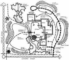 Urban Planning And Landscape Architecture Building Msu Address Site Analysis Architecture, Architecture Concept Diagram, Landscape Architecture Drawing, Landscape Concept, Architecture Graphics, Urban Architecture, Landscape Design, Bubble Diagram Architecture, Computer Architecture