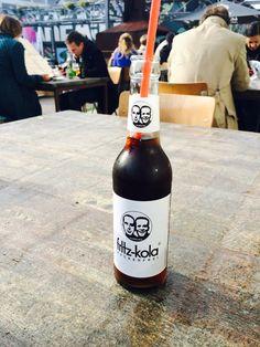 Hipster coke - fritz kola Fritz Kola, Corona Beer, Coke, Beer Bottle, Hipster, Drinks, Interior, Furniture, Design