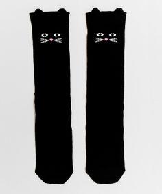 Lazy Oaf Kitty Socks (£8.00)