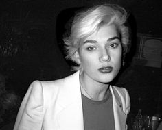 Remembering Paris nightlife's queen of punk, Edwige Belmore. Rue Sainte Anne, Langley Fox, Le Palace, French New Wave, Punk Princess, Princess Disney, Bleach Blonde, Portraits, French Chic