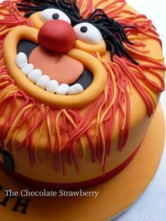 Animal cake (the drummer) from The Muppet's