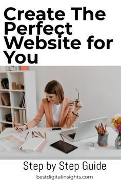 This guide will help you grow your website, reach more customers and develop your online presence. Step by step how to start an online store #ecommerce Basic Website, Web Design Tips, Starting Your Own Business, Work From Home Moms, Good Advice, Step Guide, Ecommerce, Online Business, Insight