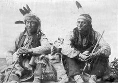 Two plains cree natives