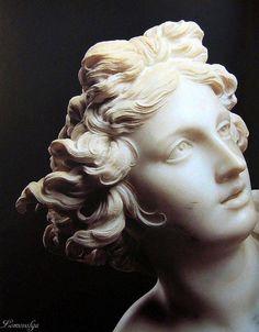 Bernini Sculpture, Sculpture Head, Plaster Sculpture, Ancient Greek Sculpture, Greek Statues, Angel Statues, Renaissance Art, Sculpting, Poster