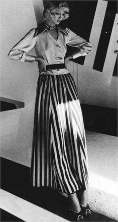 Gonne lunghe anni 70 - Vogue.it