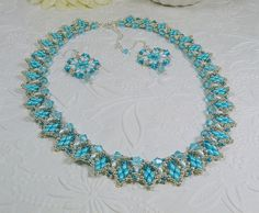 Hey, I found this really awesome Etsy listing at https://www.etsy.com/listing/241795476/woven-super-duo-collar-necklace-and