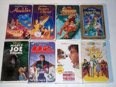 8 walt disney movies vhs $11.00