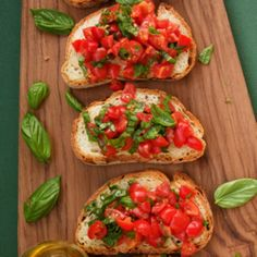 Link to the Bruschetta With Tomatoes  Basil Recipe