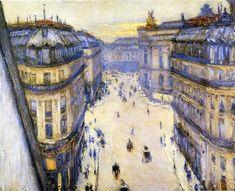 Gustave Caillebotte - Rue Halevy - Paris 1878