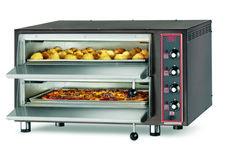 8-PIZZA-CB 4TER Forno pizza elettrico (4 termostati) con refrattario in pietra lavica. www.cb-italy.com