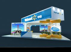 A cool #exhibit design for #walmart. See what we have built at TriadCreativeGroup.com