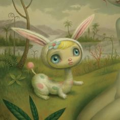 my favorite mark ryden creature.