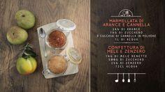 La ricetta della marmellata con mele renette e zenzero