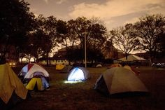 Once a year, Governors Island makes an exception to its no-camping rule for people who haul their supplies over by canoe, kayak and rowboat. Camping Rules, Canoe, Ny Times, The Great Outdoors, Kayaking, Outdoor Gear, New York City, Tent, Nyc