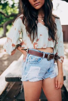 shorts and crop top – 12th Tribe