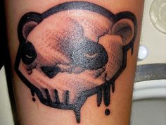 Image result for panda skull