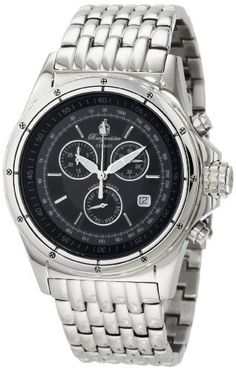 Burgmeister Men's BM121-121 Royal Chronograph Watch Burgmeister. $245.00. Case diameter: 43 mm. Water-resistant to 99 feet (30 M). Analog display. Mineral crystal. Chronograph. Save 79% Off!