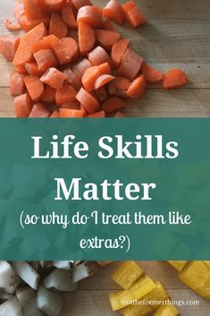 Life skills matter (so why do i treat them like extras? Family Meals, Kids Meals, Special Needs Mom, Education Quotes For Teachers, Life Skills, Special Education, Have Time, Healthy Dinner Recipes, Anxiety Disorder