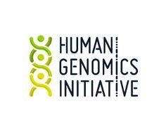 Logo design - Human Genomics Initiative by atomicvibe