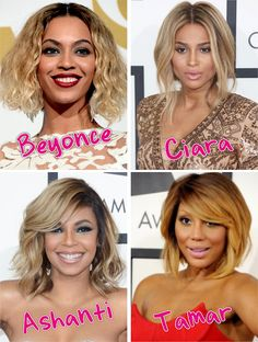 Blonde Trend Alert At The Grammys 2014 http://www.blackhairinformation.com/general-articles/blonde-trend-alert-grammys-2014/