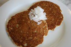 Gluten Free Organic Coconut Pancakes