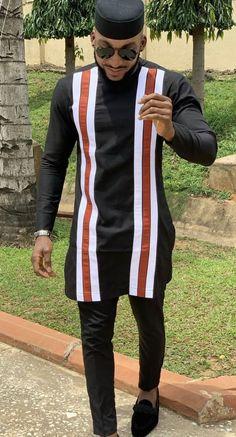 African Men clothing Black African Dashiki African grooms men African Men Wedding African Wedding African Print for Men African Suit African Wear Styles For Men, African Shirts For Men, African Dresses Men, African Attire For Men, African Clothing For Men, African Wedding Dress, Dashiki For Men, African Dashiki, Nigerian Men Fashion