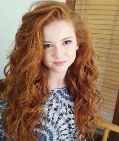 Pretty Red Head !!