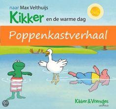Poppenkastverhaal van Kikker en de warme dag