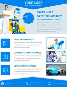 This great flyer designed for your Cleaning Company. You can use it for your Company publicity. You can edit this flyer very easily.This Flyer Specially designed for cleaning company But you can us… Cleaning Service Flyer, Cleaning Flyers, House Cleaning Services, Free Psd Flyer Templates, Business Flyer Templates, Business Cards, Free Brochure, Brochure Template, Flyer Design