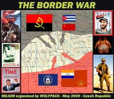 history of South African bush and border wars - Google Search