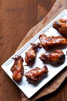 Hoisin Stout Chicken Wings. SO easy and so good!
