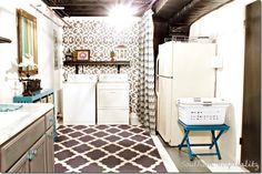 Awesome Laundry Room makeover