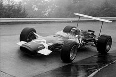 Siffert Lotus 49B GP Brands Hatch 1968