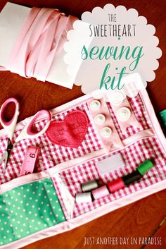 Just Another Day in Paradise: The Sweetheart Sewing Kit