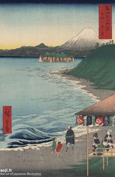«The Sea at Satta,  Suruga district » by Hiroshige  http://www.artofjapaneseillustration.com/shop/en/hiroshige/540-suruga-satta-kaijo-by-utagawa-hiroshige-.html