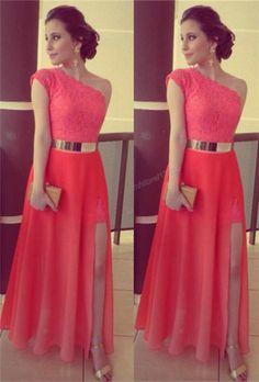 Pd416 High Quality Prom Dress,Charming Prom Dress,A-Line Prom Dress,One-Shoulder Prom Dress