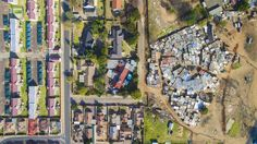 Divided cities: South Africa's apartheid legacy photographed by drone