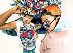 g-dragon and taeyang big bang! Gd Bigbang, Bigbang G Dragon, Daesung, 2ne1, Btob, K Pop, Swag Pictures, G Dragon Fashion, Infinity Challenge