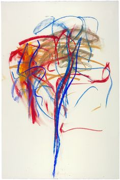 PreviousNext  Pastel, 1991. Pastel on paper, 48 x 31 1/2 inches (121.9 x 80 cm). Collection of the Joan Mitchell Foundation, New York.    © Estate of Joan Mitchell.