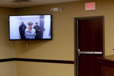 Dylann Roof appears via a jailhouse videolink at the Centralized Bond Hearing Court in North Charleston, S.C. June 19, 2015. Roof was charged with nine counts of murder and firearms charges in the shooting at Emanuel African Methodist Episcopal Church in downtown Charleston, S.C.