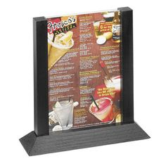 Menu Stands Restaurant Table Tents Table Stands And Card Holders - Table tent card holders